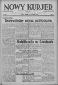 Nowy Kurjer: dziennik poświęcony sprawom politycznym i społecznym 1938.09.25 R.49 Nr220