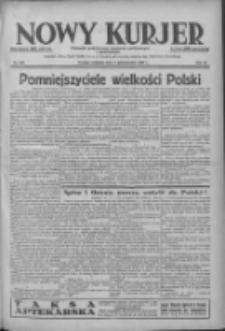 Nowy Kurjer: dziennik poświęcony sprawom politycznym i społecznym 1938.10.09 R.49 Nr232