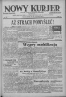 Nowy Kurjer: dziennik poświęcony sprawom politycznym i społecznym 1938.10.16 R.49 Nr238