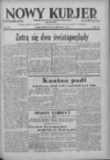 Nowy Kurjer: dziennik poświęcony sprawom politycznym i społecznym 1938.10.23 R.49 Nr244