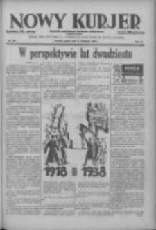 Nowy Kurjer: dziennik poświęcony sprawom politycznym i społecznym 1938.11.11 R.49 Nr259