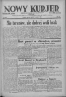 Nowy Kurjer: dziennik poświęcony sprawom politycznym i społecznym 1938.11.20 R.49 Nr266