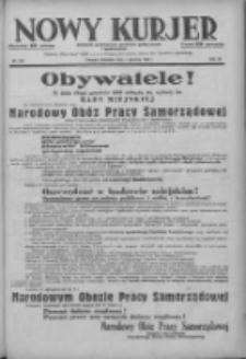 Nowy Kurjer: dziennik poświęcony sprawom politycznym i społecznym 1938.12.04 R.49 Nr278