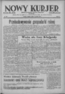 Nowy Kurjer: dziennik poświęcony sprawom politycznym i społecznym 1938.12.11 R.49 Nr283