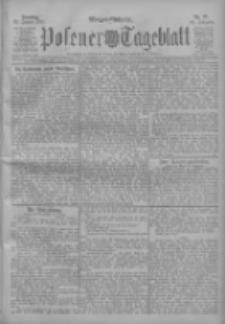 Posener Tageblatt 1911.01.22 Jg.50 Nr37
