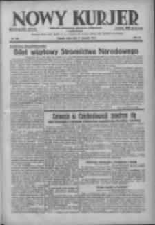Nowy Kurjer: dziennik poświęcony sprawom politycznym i społecznym 1938.08.31 R.49 Nr198