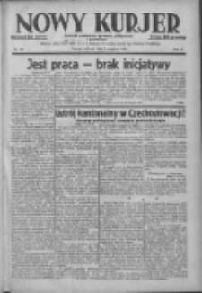 Nowy Kurjer: dziennik poświęcony sprawom politycznym i społecznym 1938.09.01 R.49 Nr199