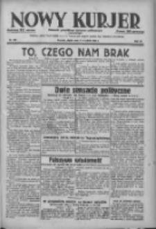 Nowy Kurjer: dziennik poświęcony sprawom politycznym i społecznym 1938.09.09 R.49 Nr206
