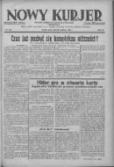 Nowy Kurjer: dziennik poświęcony sprawom politycznym i społecznym 1938.09.14 R.49 Nr210