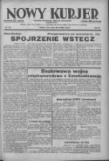 Nowy Kurjer: dziennik poświęcony sprawom politycznym i społecznym 1938.09.20 R.49 Nr215