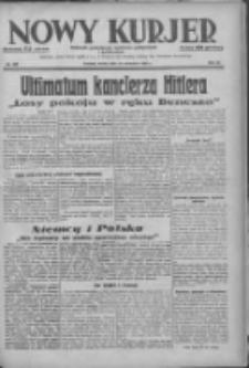 Nowy Kurjer: dziennik poświęcony sprawom politycznym i społecznym 1938.09.28 R.49 Nr222