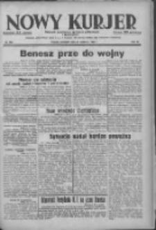 Nowy Kurjer: dziennik poświęcony sprawom politycznym i społecznym 1938.09.29 R.49 Nr223