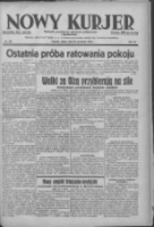 Nowy Kurjer: dziennik poświęcony sprawom politycznym i społecznym 1938.09.30 R.49 Nr224