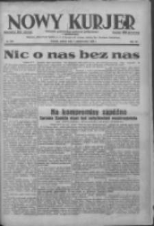 Nowy Kurjer: dziennik poświęcony sprawom politycznym i społecznym 1938.10.01 R.49 Nr225