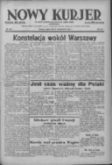 Nowy Kurjer: dziennik poświęcony sprawom politycznym i społecznym 1938.10.08 R.49 Nr231