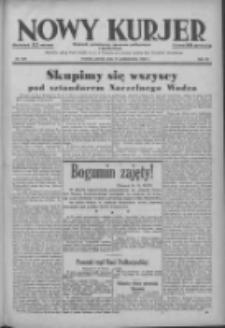 Nowy Kurjer: dziennik poświęcony sprawom politycznym i społecznym 1938.10.11 R.49 Nr233