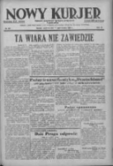 Nowy Kurjer: dziennik poświęcony sprawom politycznym i społecznym 1938.10.27 R.49 Nr247