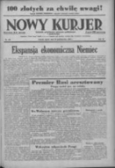 Nowy Kurjer: dziennik poświęcony sprawom politycznym i społecznym 1938.10.28 R.49 Nr248