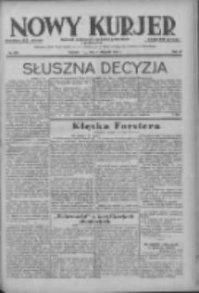 Nowy Kurjer: dziennik poświęcony sprawom politycznym i społecznym 1938.11.04 R.49 Nr253
