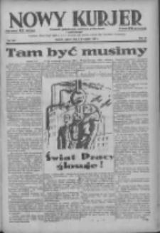 Nowy Kurjer: dziennik poświęcony sprawom politycznym i społecznym 1938.11.05 R.49 Nr254