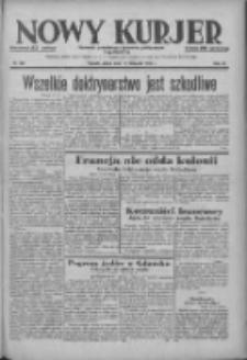 Nowy Kurjer: dziennik poświęcony sprawom politycznym i społecznym 1938.11.18 R.49 Nr264