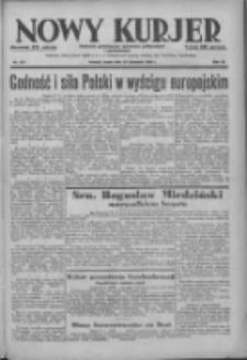 Nowy Kurjer: dziennik poświęcony sprawom politycznym i społecznym 1938.11.30 R.49 Nr274