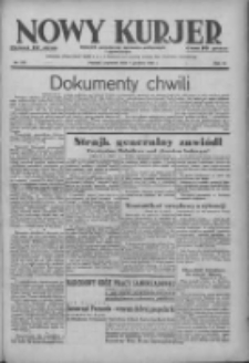 Nowy Kurjer: dziennik poświęcony sprawom politycznym i społecznym 1938.12.01 R.49 Nr275