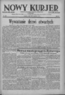 Nowy Kurjer: dziennik poświęcony sprawom politycznym i społecznym 1938.12.02 R.49 Nr276