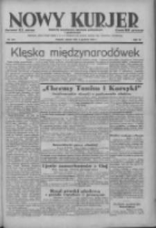 Nowy Kurjer: dziennik poświęcony sprawom politycznym i społecznym 1938.12.03 R.49 Nr277