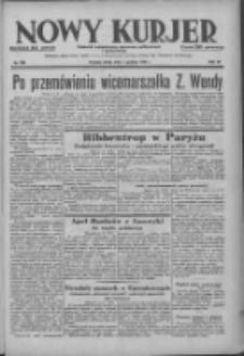 Nowy Kurjer: dziennik poświęcony sprawom politycznym i społecznym 1938.12.07 R.49 Nr280