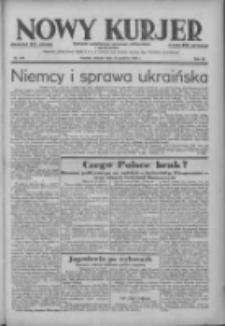Nowy Kurjer: dziennik poświęcony sprawom politycznym i społecznym 1938.12.13 R.49 Nr284