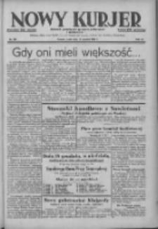 Nowy Kurjer: dziennik poświęcony sprawom politycznym i społecznym 1938.12.14 R.49 Nr285