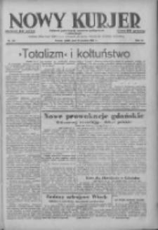 Nowy Kurjer: dziennik poświęcony sprawom politycznym i społecznym 1938.12.16 R.49 Nr287