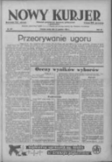 Nowy Kurjer: dziennik poświęcony sprawom politycznym i społecznym 1938.12.21 R.49 Nr291