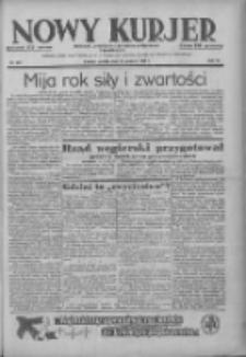 Nowy Kurjer: dziennik poświęcony sprawom politycznym i społecznym 1938.12.24 R.49 Nr294
