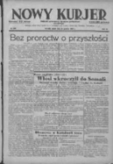 Nowy Kurjer: dziennik poświęcony sprawom politycznym i społecznym 1938.12.30 R.49 Nr298