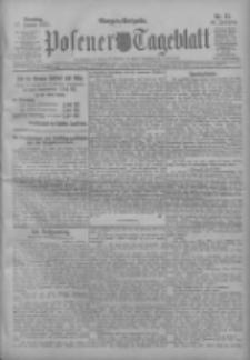 Posener Tageblatt 1911.01.17 Jg.50 Nr27