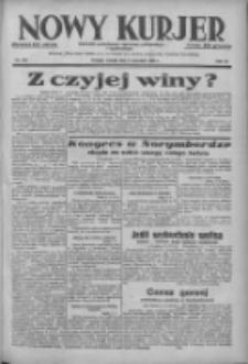 Nowy Kurjer: dziennik poświęcony sprawom politycznym i społecznym 1938.09.06 R.49 Nr203