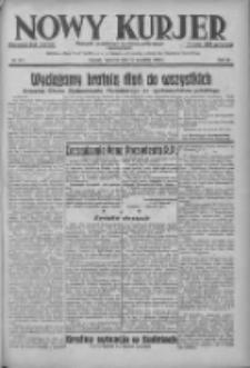 Nowy Kurjer: dziennik poświęcony sprawom politycznym i społecznym 1938.09.15 R.49 Nr211