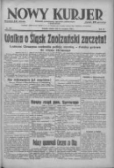Nowy Kurjer: dziennik poświęcony sprawom politycznym i społecznym 1938.09.24 R.49 Nr219