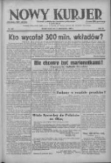 Nowy Kurjer: dziennik poświęcony sprawom politycznym i społecznym 1938.10.05 R.49 Nr228