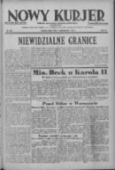 Nowy Kurjer: dziennik poświęcony sprawom politycznym i społecznym 1938.10.21 R.49 Nr242