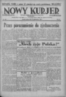 Nowy Kurjer: dziennik poświęcony sprawom politycznym i społecznym 1938.10.22 R.49 Nr243