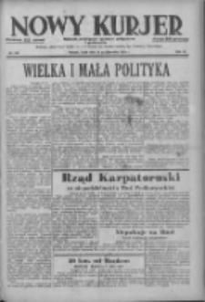 Nowy Kurjer: dziennik poświęcony sprawom politycznym i społecznym 1938.10.26 R.49 Nr246