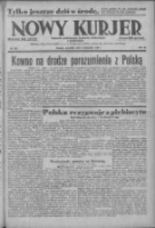 Nowy Kurjer: dziennik poświęcony sprawom politycznym i społecznym 1938.11.03 R.49 Nr252