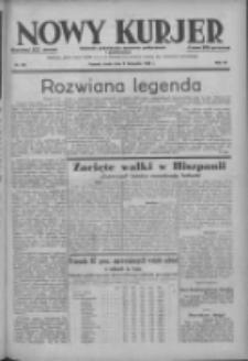Nowy Kurjer: dziennik poświęcony sprawom politycznym i społecznym 1938.11.09 R.49 Nr257