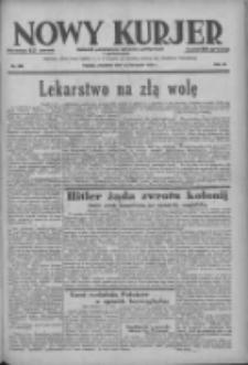 Nowy Kurjer: dziennik poświęcony sprawom politycznym i społecznym 1938.11.10 R.49 Nr258