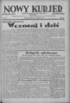 Nowy Kurjer: dziennik poświęcony sprawom politycznym i społecznym 1938.11.15 R.49 Nr261