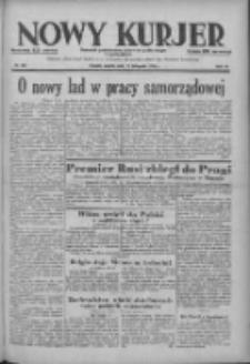 Nowy Kurjer: dziennik poświęcony sprawom politycznym i społecznym 1938.11.19 R.49 Nr265