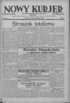 Nowy Kurjer: dziennik poświęcony sprawom politycznym i społecznym 1938.11.23 R.49 Nr268